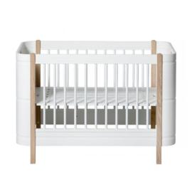 Oliver Furniture wood mini+ cot bed oak (0-9jaar)