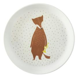 Trixie plate mr fox