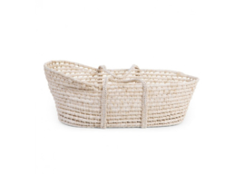 Moses basket natural (mattress incl.) - Childhome