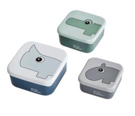 Snackbox set blue - Done by Deer
