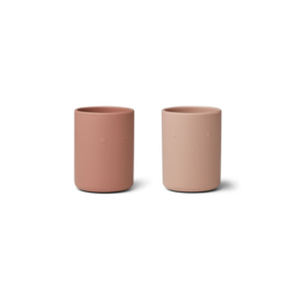 Ethan silicone cups 2pack rose mix