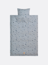 Moon bedding faded blue