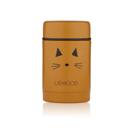 Nadia food jar Cat mustard - liewood