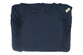 Hermi fitted sheet denim - Heart of Gold