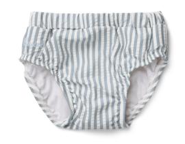 Frej baby boy swim pants sea blue stripes
