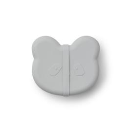 Vita silicone lunchbox panda dumbo grey