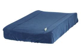 Vital changing mat cover denim - Heart of Gold