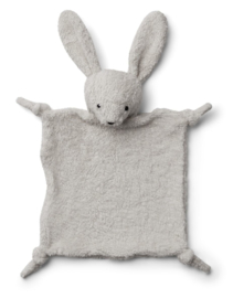 Lotte cuddle cloth rabbit pale grey