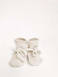 Booties off-white - Hvid