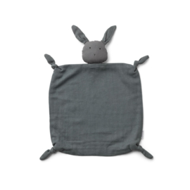 Agnete cuddle cloth rabbit stone grey - Liewood