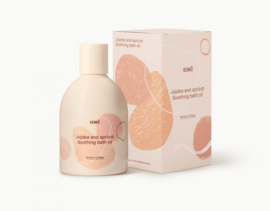 Kenkô jojoba and apricot soothing bath oil for mother and baby