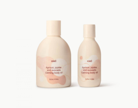 Kenkô apricot, jojoba and avocado calming body oil for mother and baby