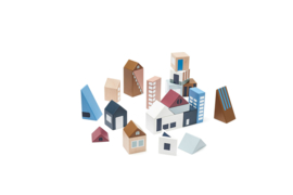 Aiden city  wooden blocks - Kids concept