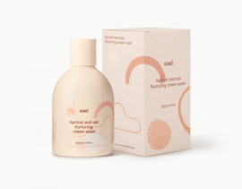 Kenkô apricot and oat nurturing cream wash for mother