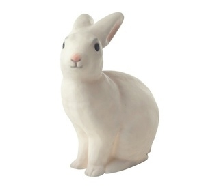 Nachtlamp konijn wit