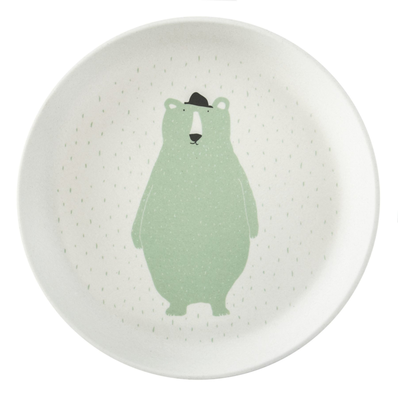 Trixie plate mr polar bear