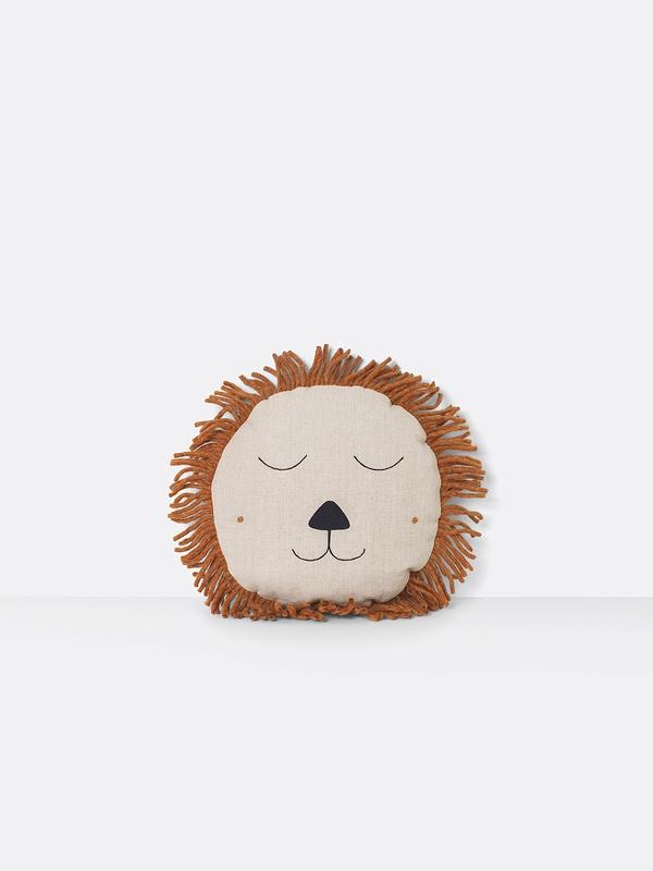 Ferm Living Zitzak.Ferm Living Safari Cushion Lion Kussens Zitzakken Ik Is Groot