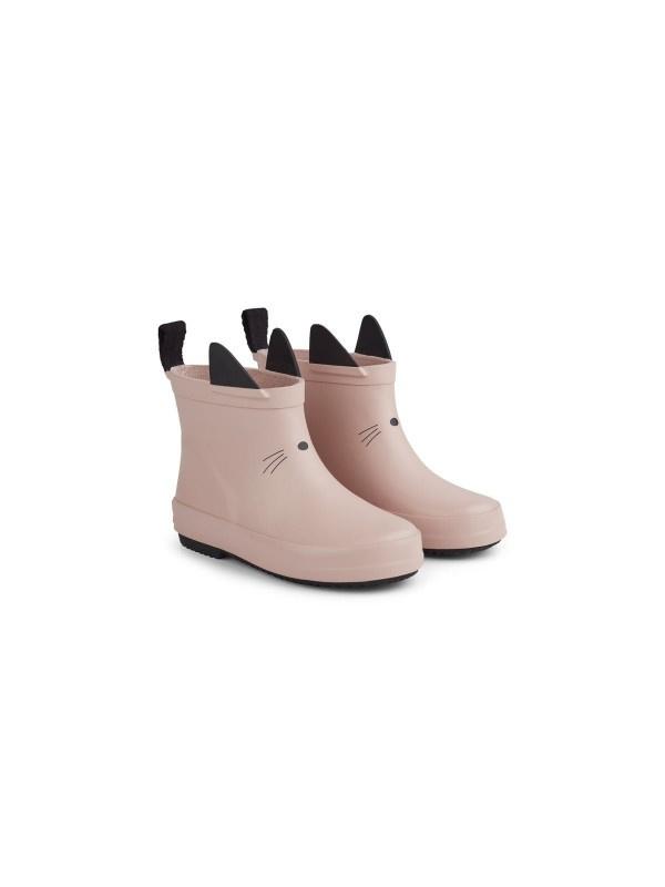 Tobi rain boot cat rose