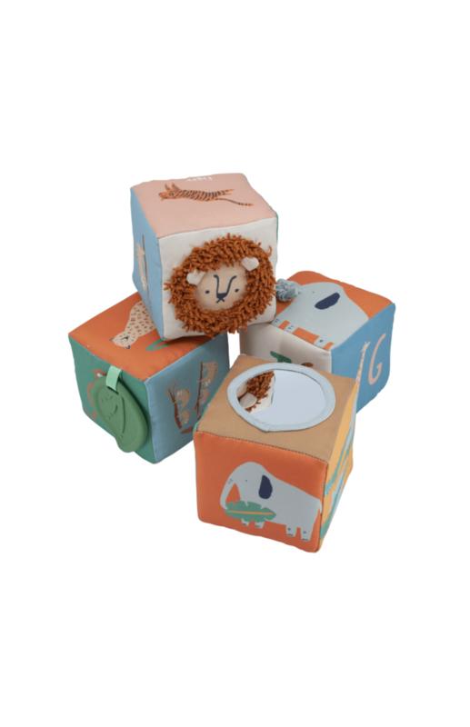 Soft blocks  wildlife - sebra