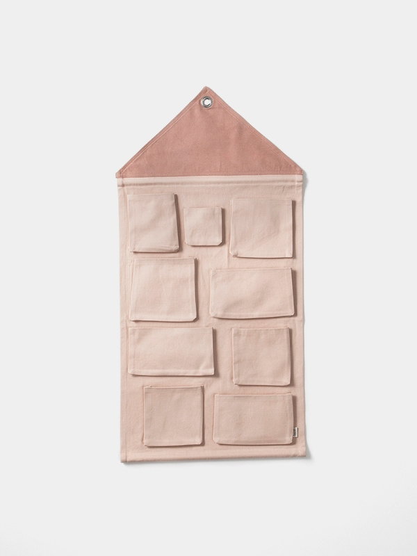 House wall storage rose