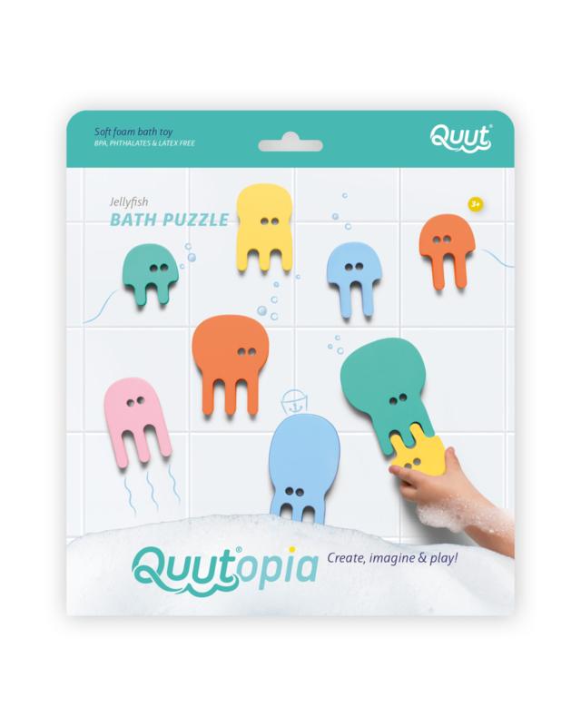 Bath puzzle jellyfish - Quutopia