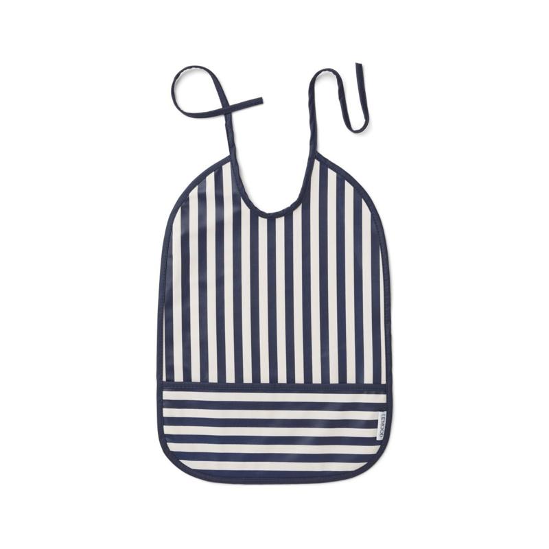 Lai bib navy stripes - Liewood
