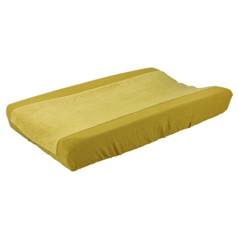 Waskussenhoes bliss mustard
