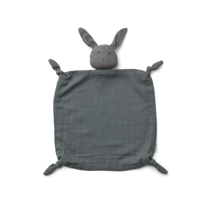 Agnete cuddle cloth rabbit stone grey - Liewood