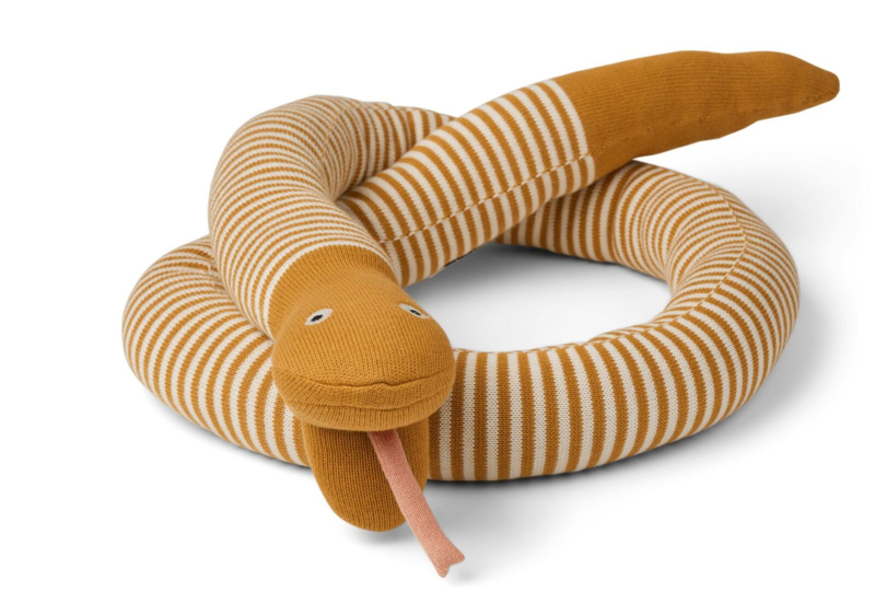 Fillippa knitted snake mustard stripes - Liewood