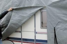 Luxe Camper beschermhoes SFS-3 materiaal  L700-750xB240xH270 cm