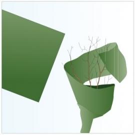 warmtesnoer 6 meter + vliesdoek 150 x 500 cm + voedingskoker