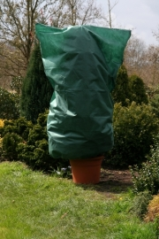 Winterbeschermhoes  B120 cm x H180 kleur: groen