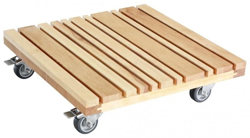 Plantentrolley `Jurt XL` 40x40 cm. Belastbaar tot 150 kilo