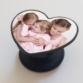 Foto popsocket hart vorm