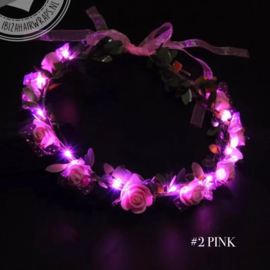 LED bloemen hoofdband