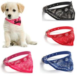 Puppy/katten halsband met naam