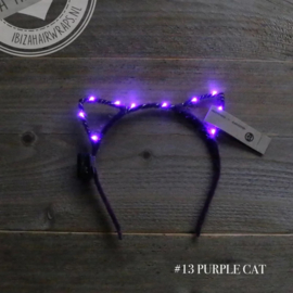LED Diadeem Cats