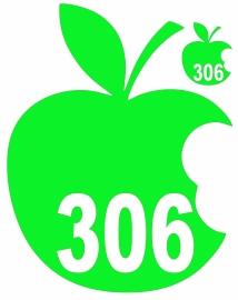 Kliko sticker set appel