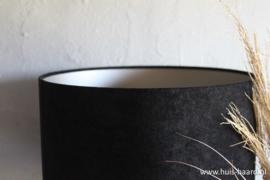 Lampenkap zwart velours