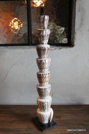 Schelpenstandaard toren