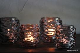 Sfeerlicht donkergrijs glas S
