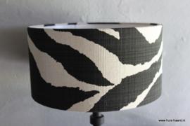 Lampenkap zwart wit