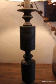 Lampenvoet zwart L