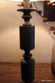 Lampenvoet zwart S