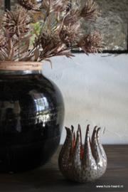 Sfeerlicht keramiek bruin grijs