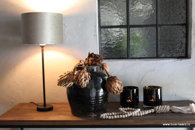 Lampenvoet zwart