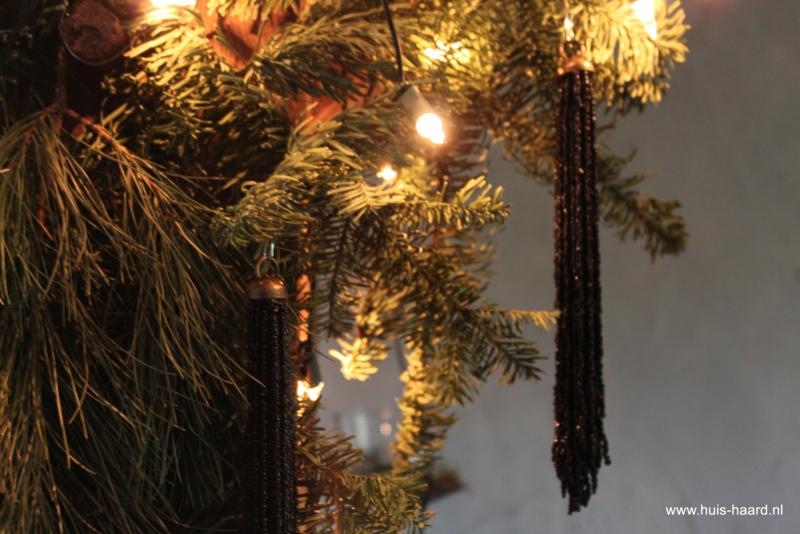 Kersthanger kraaltjes zwart