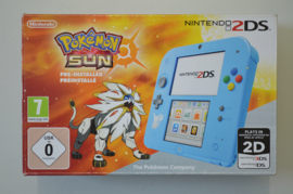 Nintendo 2DS Console (Pokemon Sun Special Edition) + Pokemon Sun [Compleet]