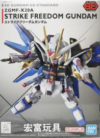 Gundam Model Kit SD Gundam EX-Standard ZGMF-X20A Strike Freedom Gundam - Bandai [Nieuw]