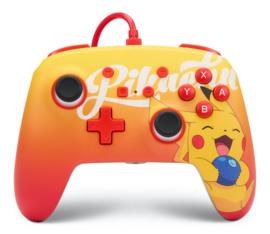 Nintendo Switch Enhanced Wired Controller - Berry Happy Pikachu (Nintendo Switch) - PowerA [Nieuw]